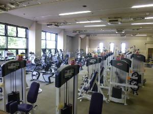 滝野川体育館トレーニングルームのジムエリア