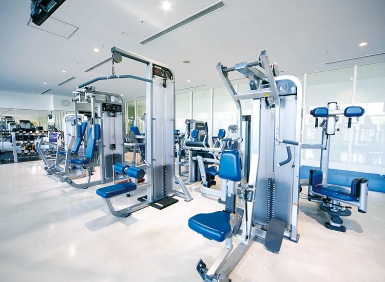 墨田区総合体育館のトレーニング室