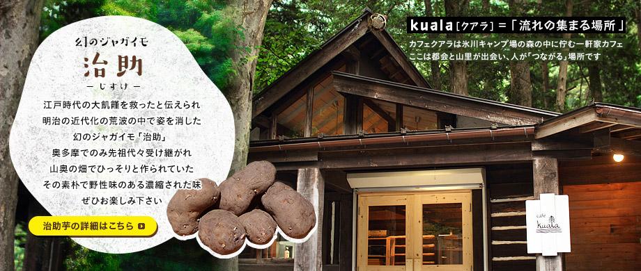 Cafe' Kuala(カフェ クアラ)の外観