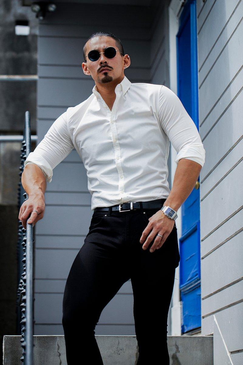 PERFECT SILHOUETTE SHIRT -WHITE(長袖)