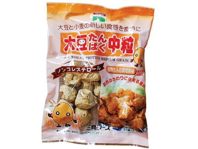 大豆たんぱく・中粒(三育)90g