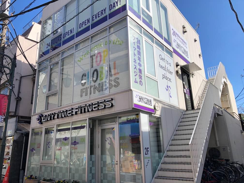 エニタイムフィットネス 東松原店の外観
