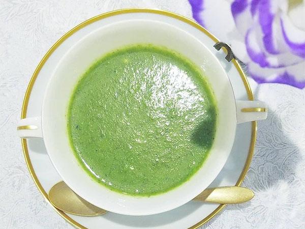 【消化を助け、食欲を改善する緑の健康スープ】コラ・キャンダ
