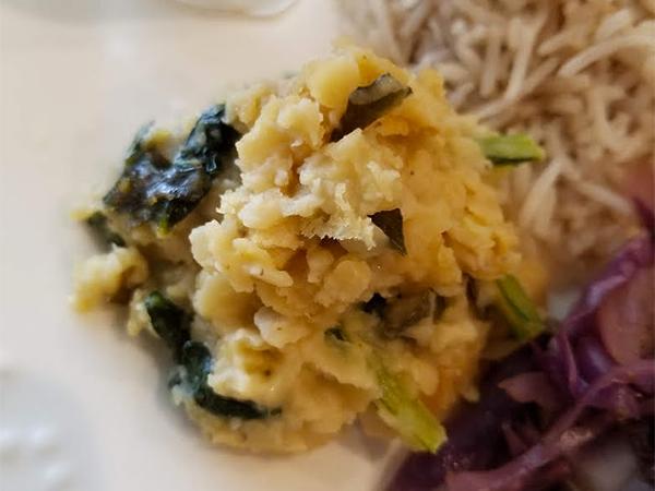 【タンパク質豊富なほっとする煮物】チャナダルと野菜のクートゥー
