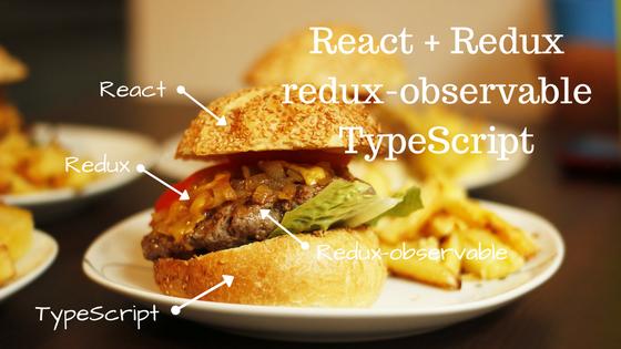 React + Redux + redux-observable + TypeScriptの実践的サンプル