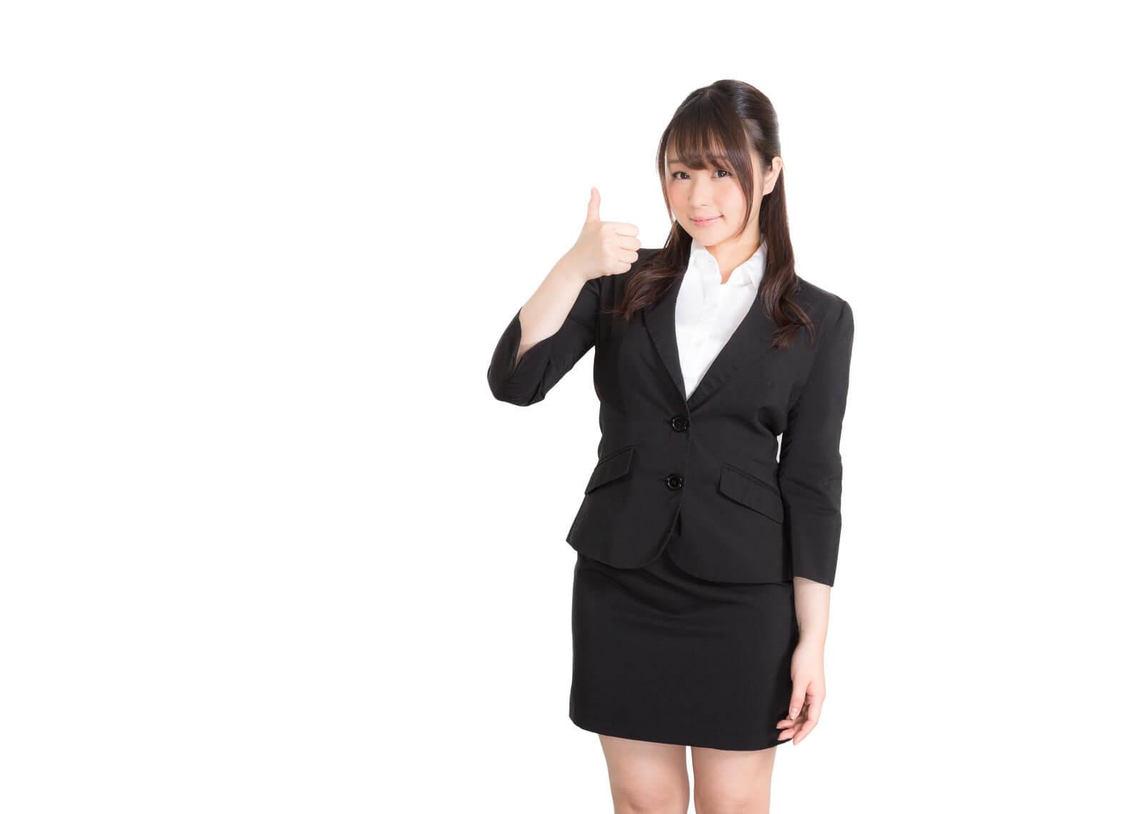 スゴい電話(すごい電話)の用途利用シーンを説明する女性
