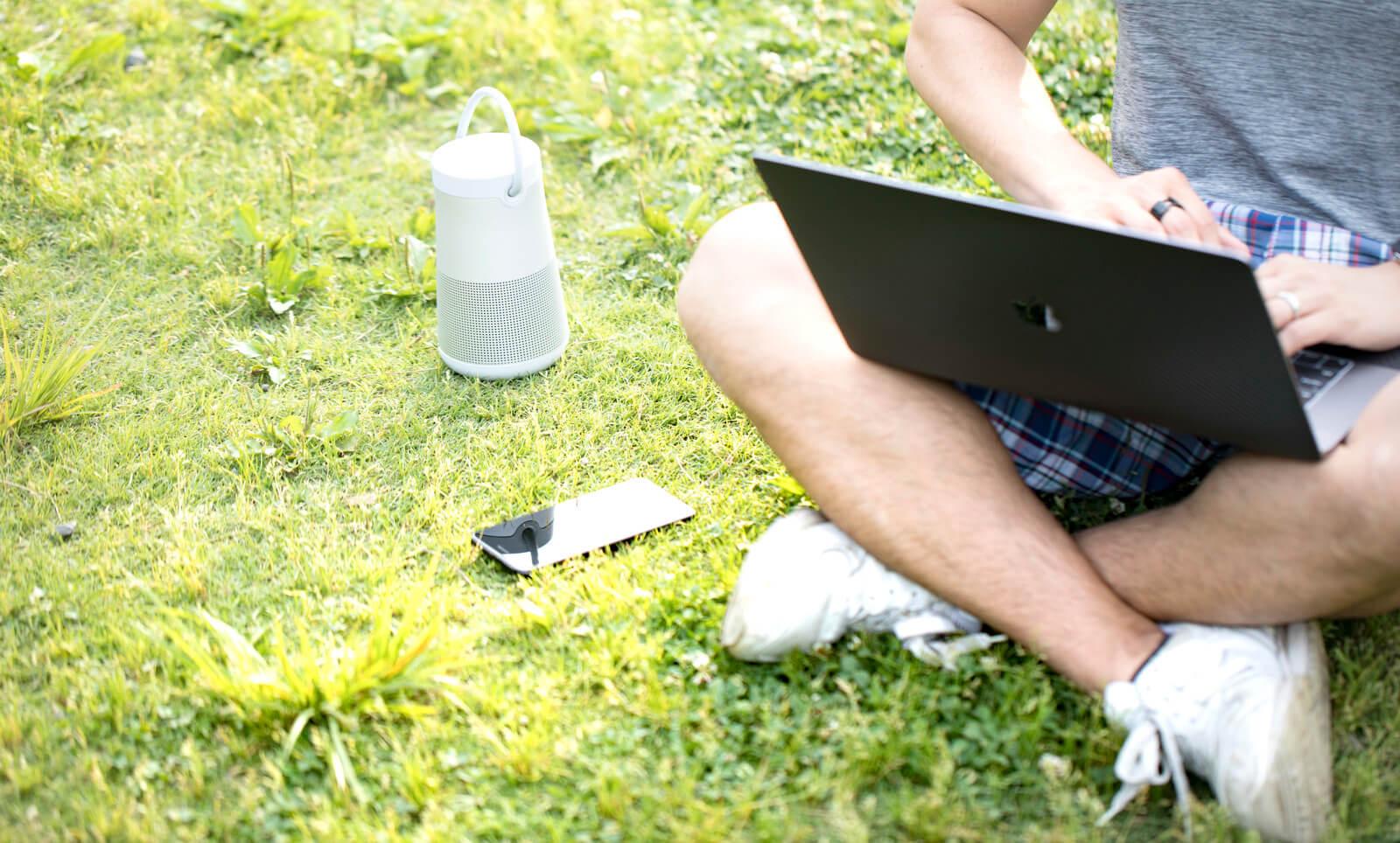 notePCとスマートスピーカーをテザリングでネット接続