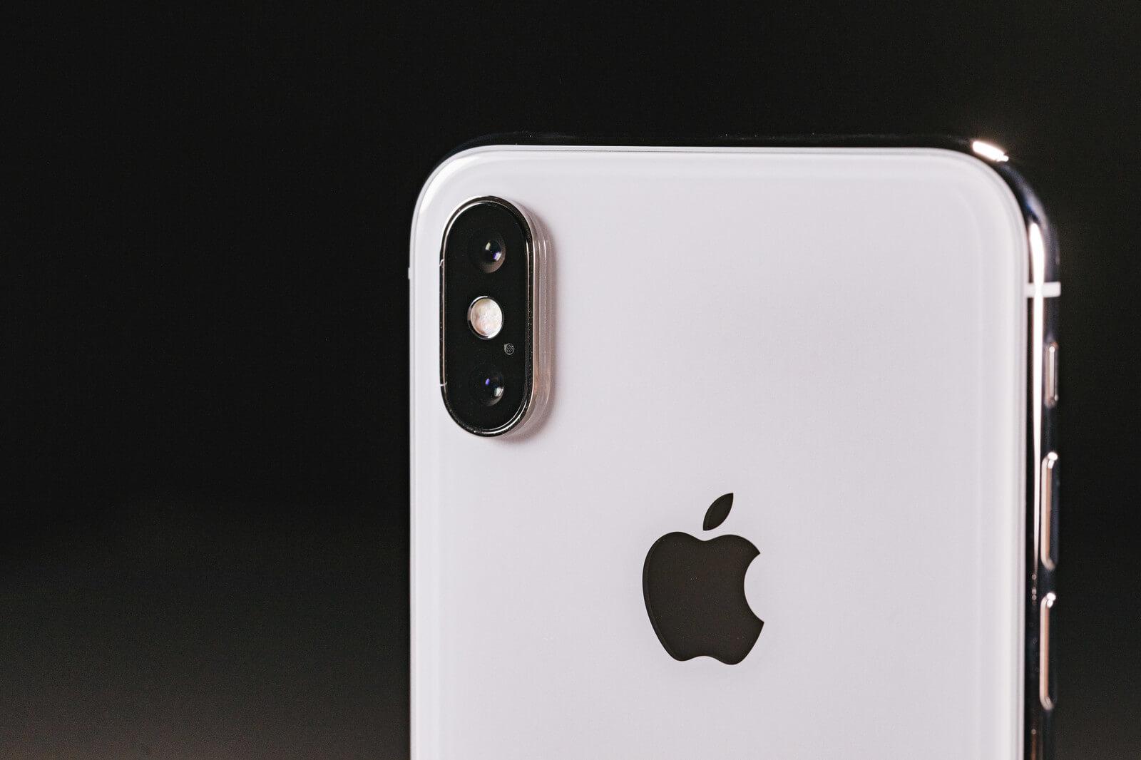 iPhoneX背面カメラ