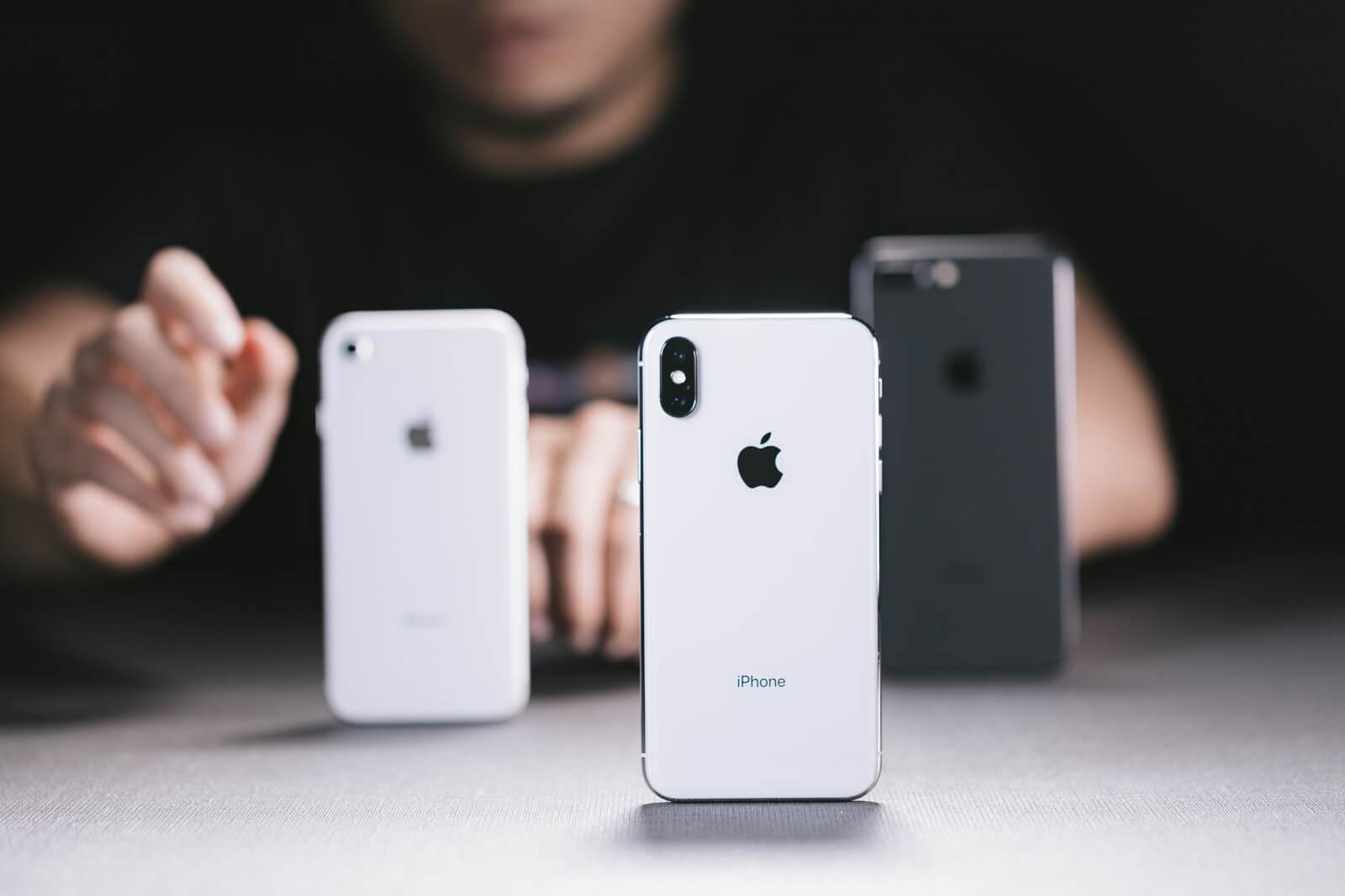 iPhoneXとiphone8
