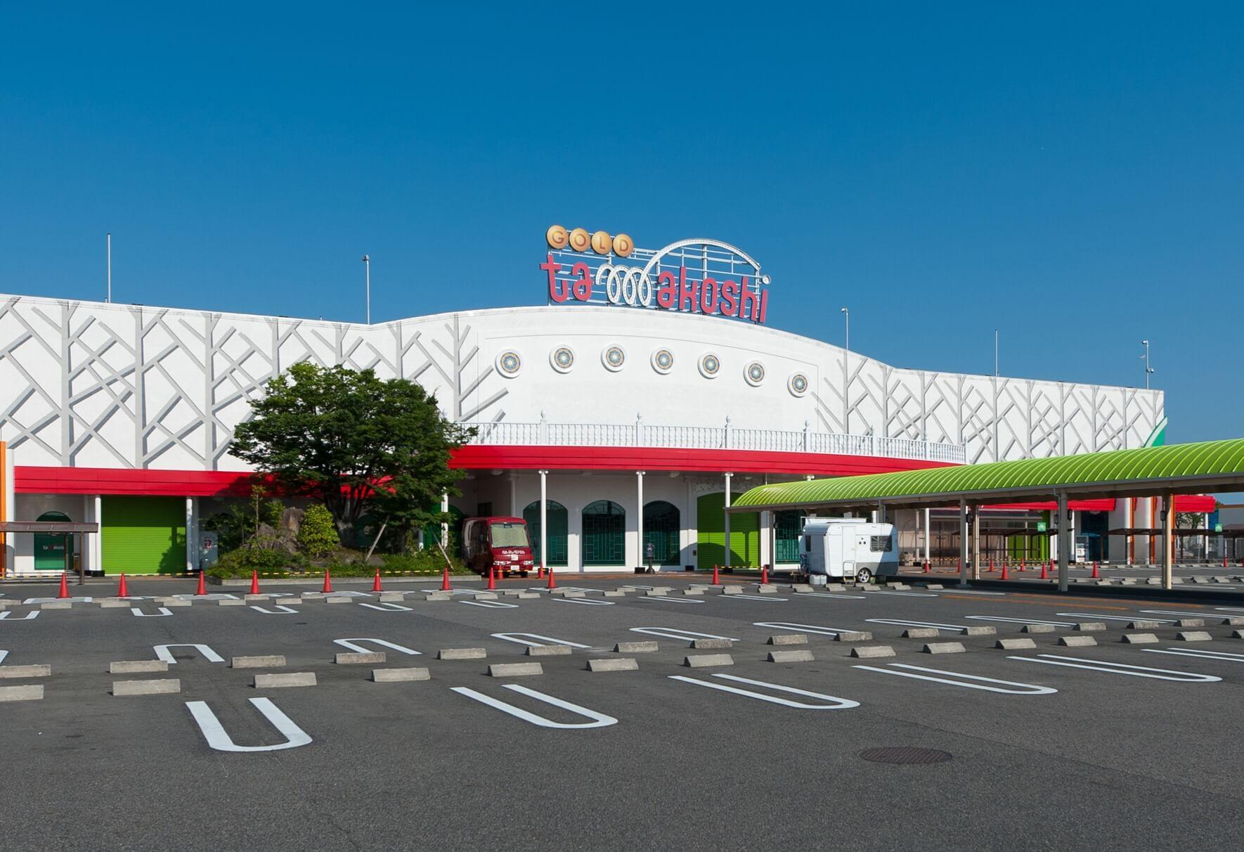 GOLD玉越中川店