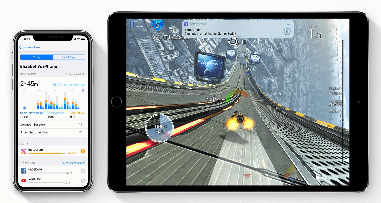 iOS12スクリーンタイム