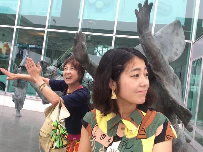 阿波踊り空港2