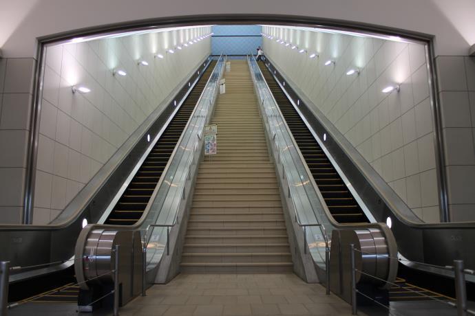 大塚国際美術館階段