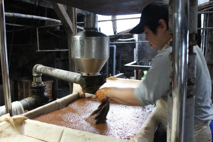 醤油作成工程3