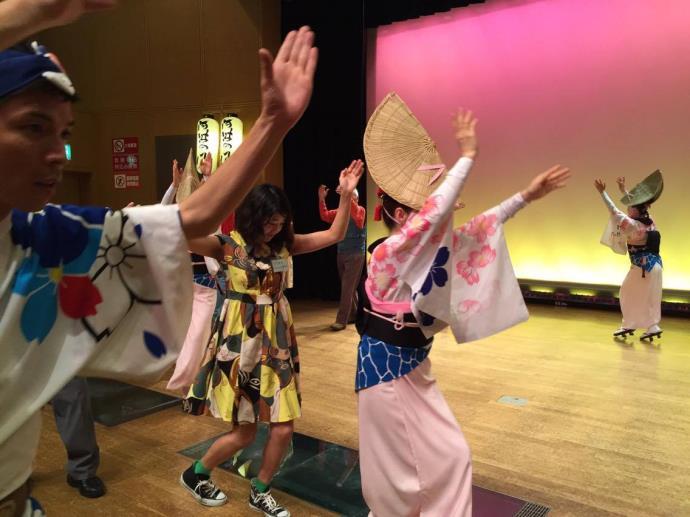 阿波踊り体験2