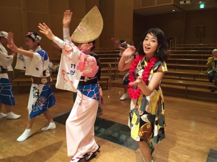 阿波踊り体験4
