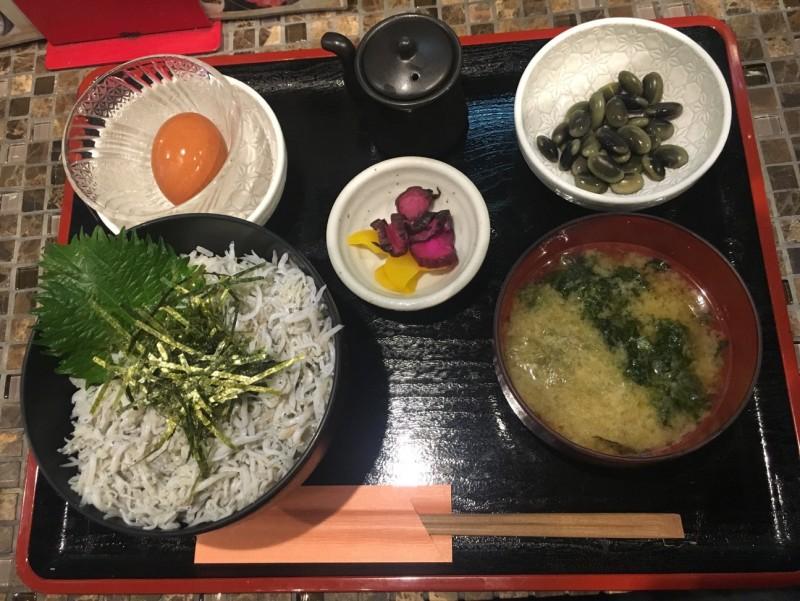 VACANCES_しらす丼