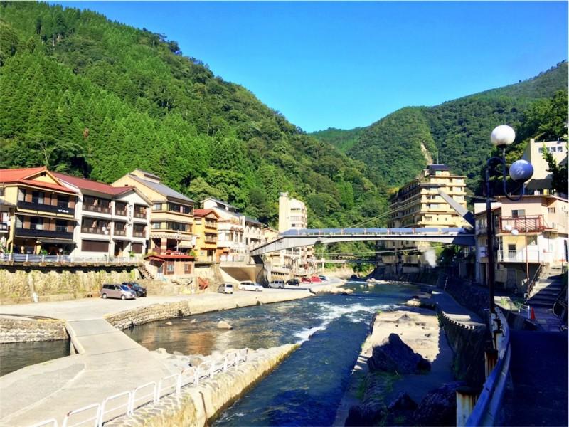 夏を求めて九州へ(熊本・杖立温泉)