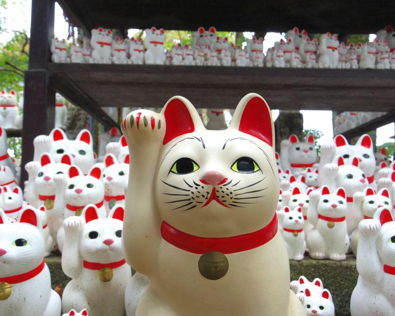 都内の猫寺・猫神社「豪徳寺」「今戸神社」 招き猫発祥は果たして…?