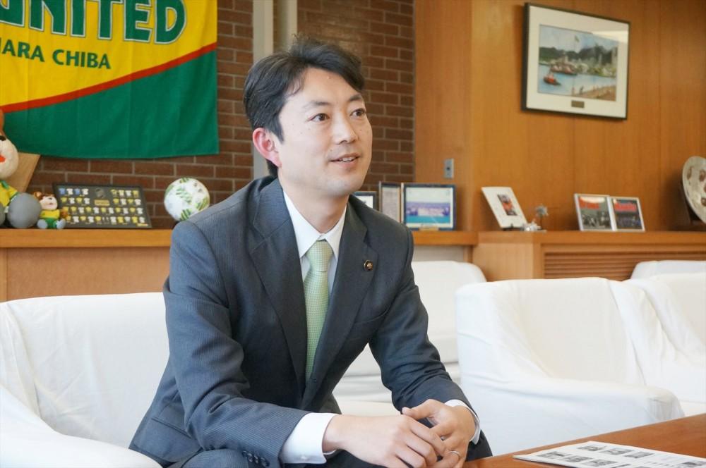 今回の問題を提起した、千葉市の熊谷俊人市長