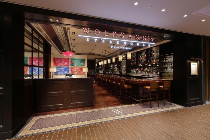 ステーキが有名な「ウルフギャング・ステーキハウス」は、実はハンバーガーも美味かった
