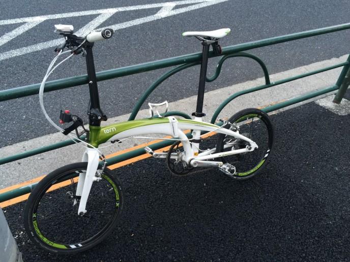 ミニベロだけど疲れにくく速いVerge X10   Tern Folding Bikes