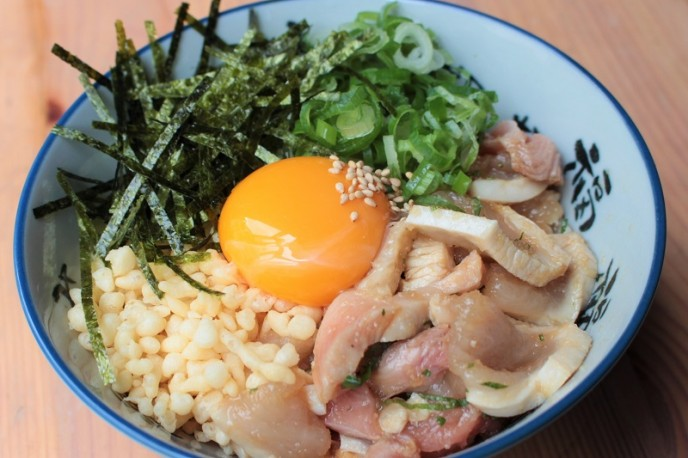 「生親子丼」500円