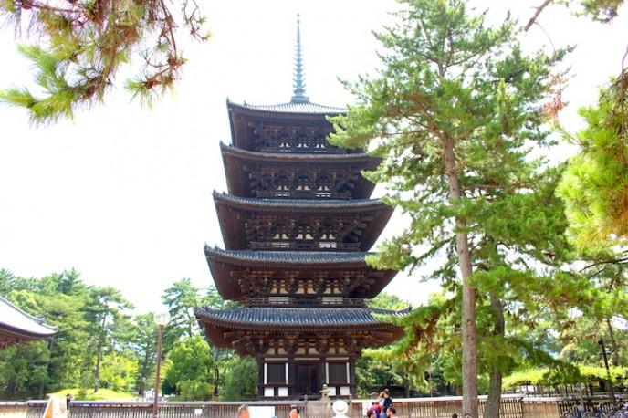 興福寺・五重塔(国宝)