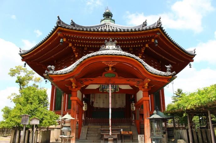 興福寺・南円堂(重要文化財)