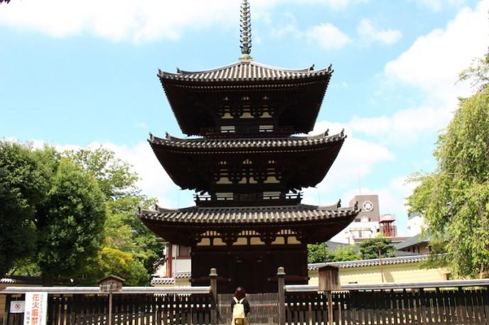 興福寺・三重塔(国宝)