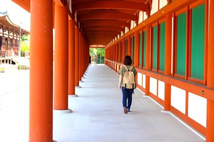 薬師寺 東回廊