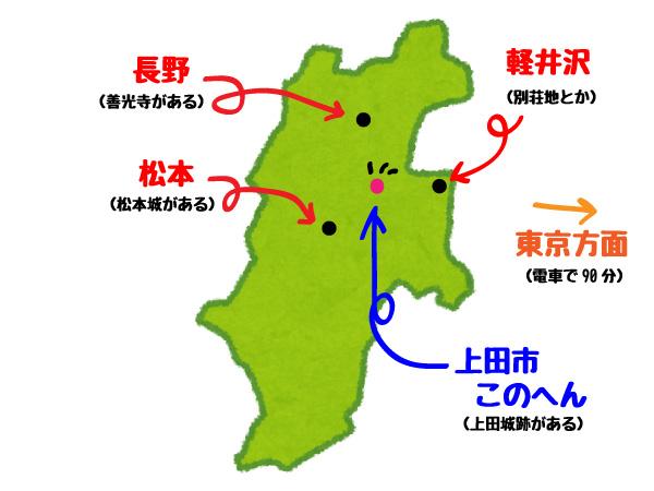 上田市この辺