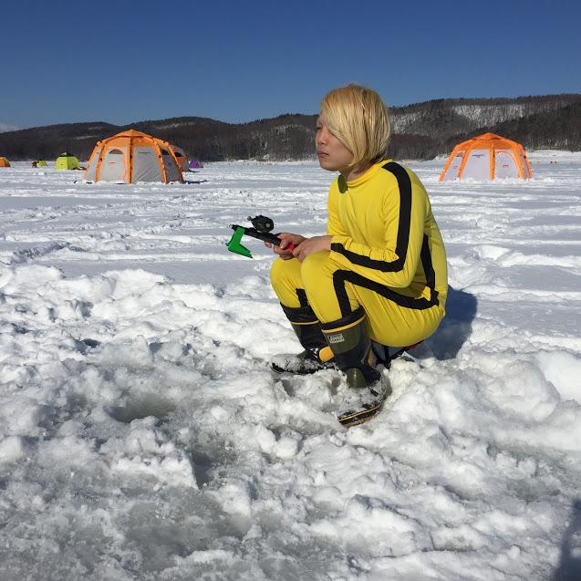 本州一厳寒の地「岩手県・岩洞湖(がんどうこ)」でワカサギ釣りをしてきた話