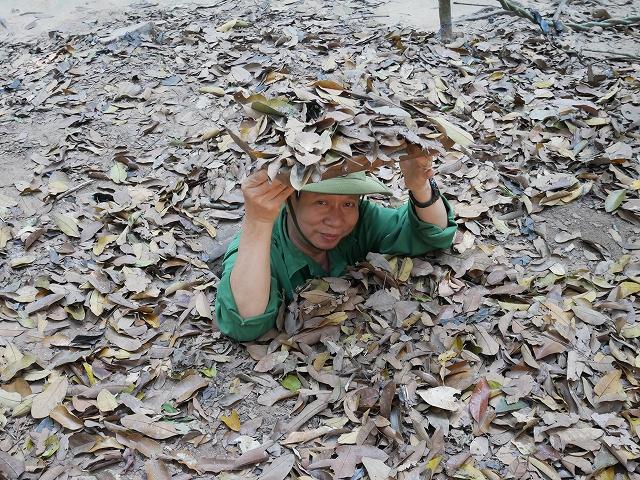 【全長200km】地下トンネル探検で学ぶベトナム戦争の歴史… ホーチミンの「クチトンネル」