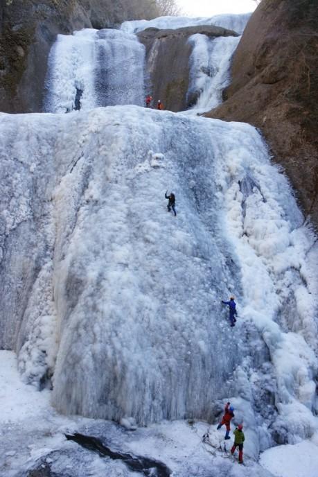 (使用フリー)2012氷瀑1