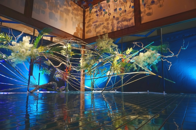 """日本の""""あかり""""を楽しむ展示。23万人が感動したアメージングジャパン『和のあかり×百段階段2018』で涼をとろう"""