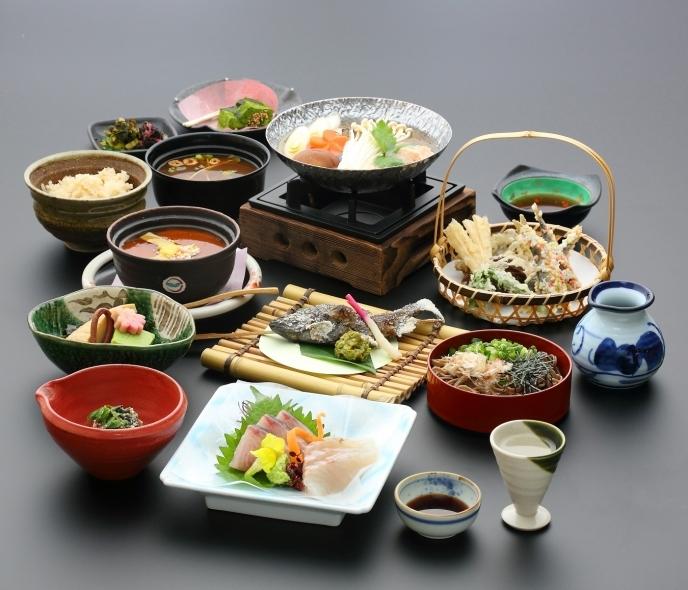 斐乃上荘様 懐石料理