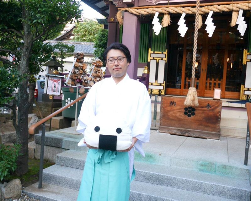 高木神社・田中さん