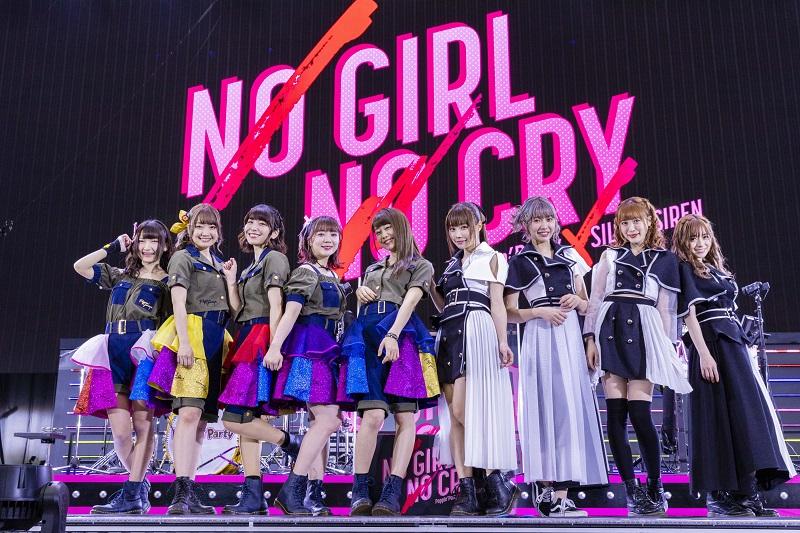 各音楽配信サイトにて「NO GIRL NO CRY」ライブセットリスト公開!