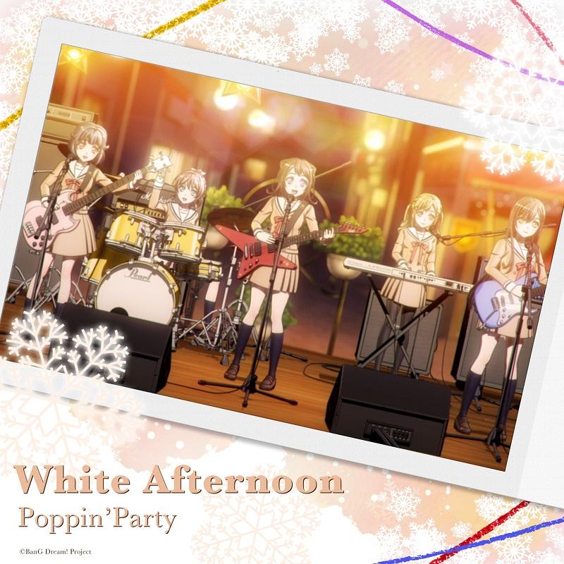 Poppin'Partyの配信楽曲「White Afternoon」がオリコンデジタルシングルランキング1位にランクイン!