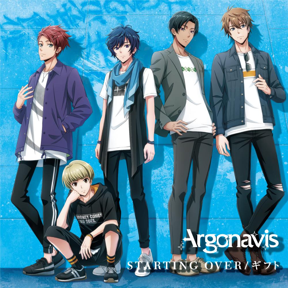 Argonavis 2nd Single「STARTING OVER/ギフト」の法人別特典を解禁!
