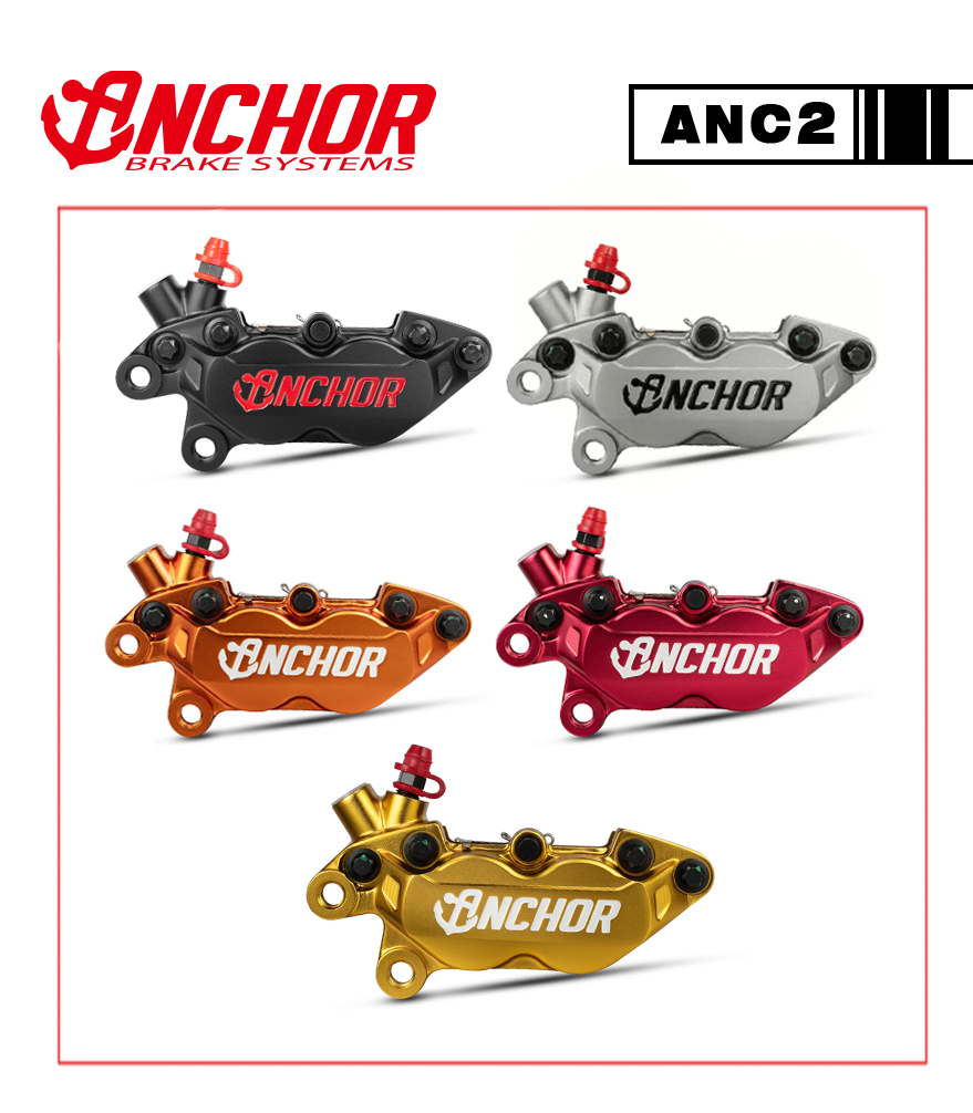 ANC2、AXIAL、4PISTONL、FORGEDL、CALIPERL、Anchor、brake systems、鍛造卡鉗、卡鉗、銨科