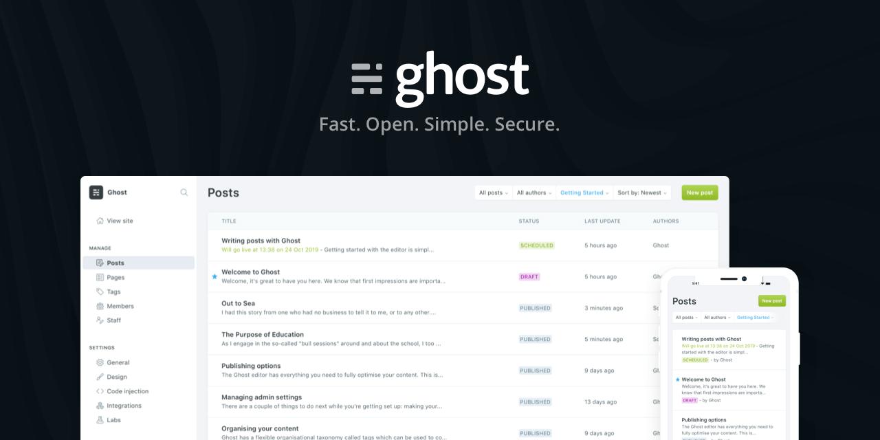 WordPress 搬遷至 Ghost CMS