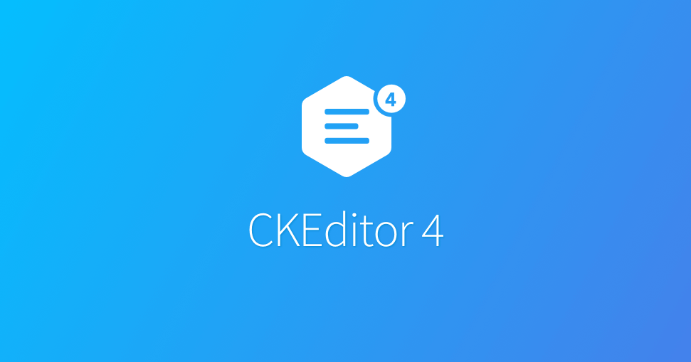 CKEditor 4 預設 table responsive