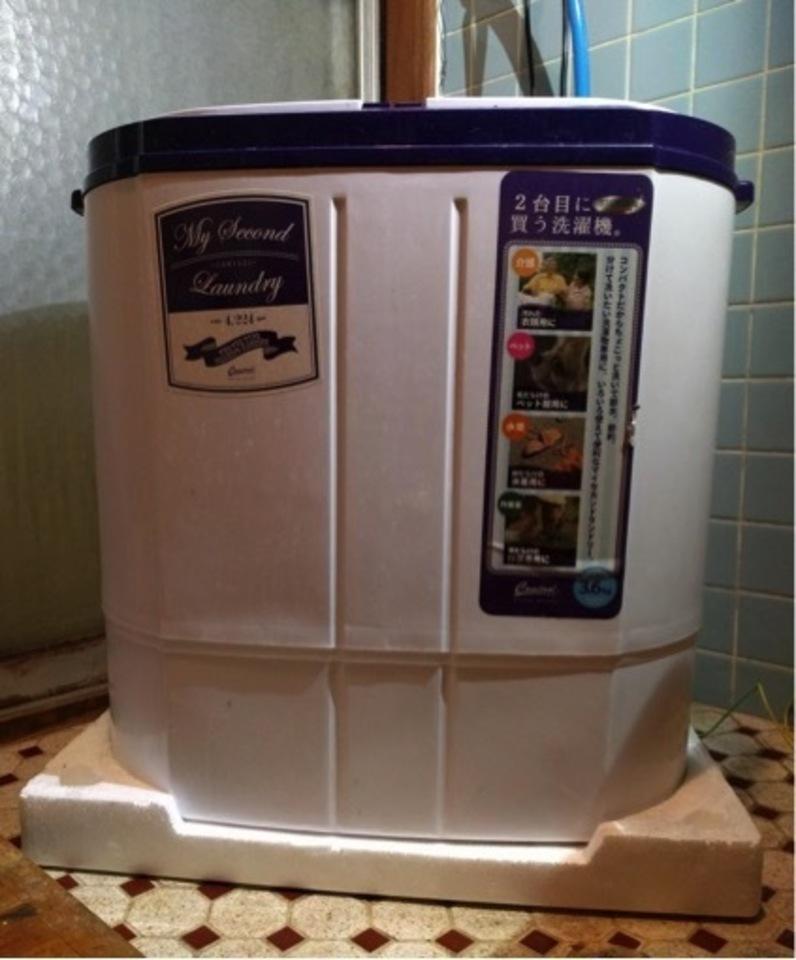二層式洗濯機とは?所有者が使い方や特徴を紹介!