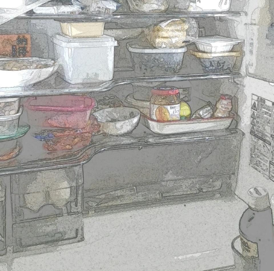 食材がカピカピ!冷蔵庫の中は乾燥しているの?