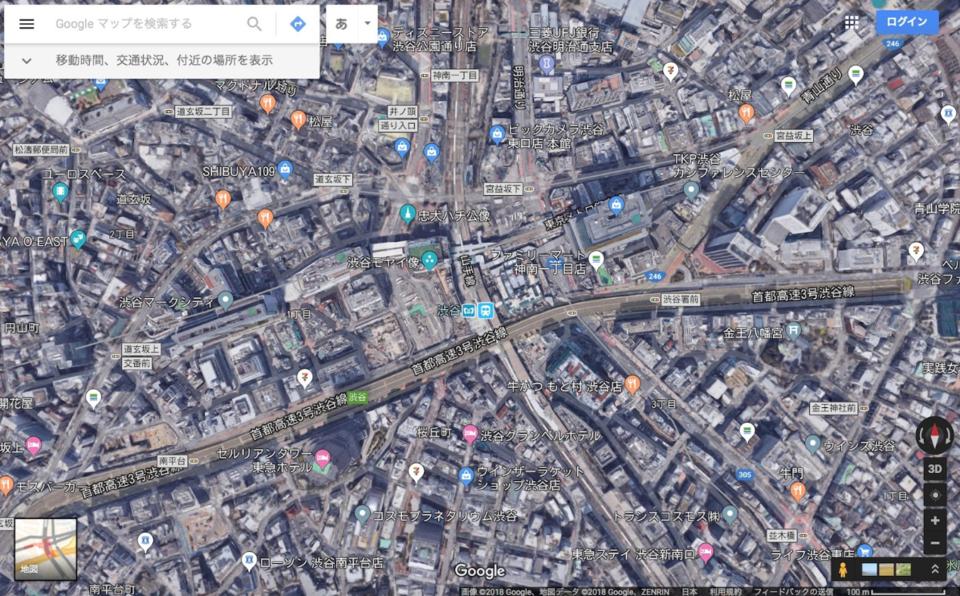 グーグルマップの邪魔な表示を消したい!消すことはできる?