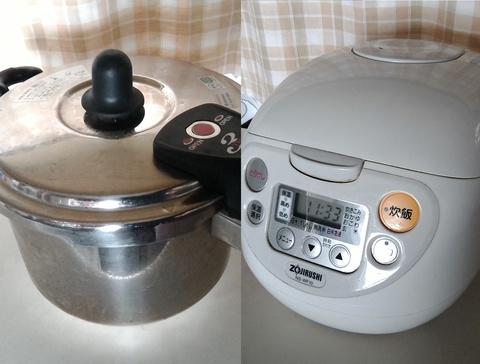 圧力鍋は炊飯器の代わりになる?圧力鍋と炊飯器の違いや電気代を比較!