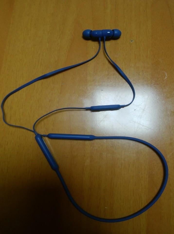 【「BeatsXイヤフォン」で音楽を楽しみました】