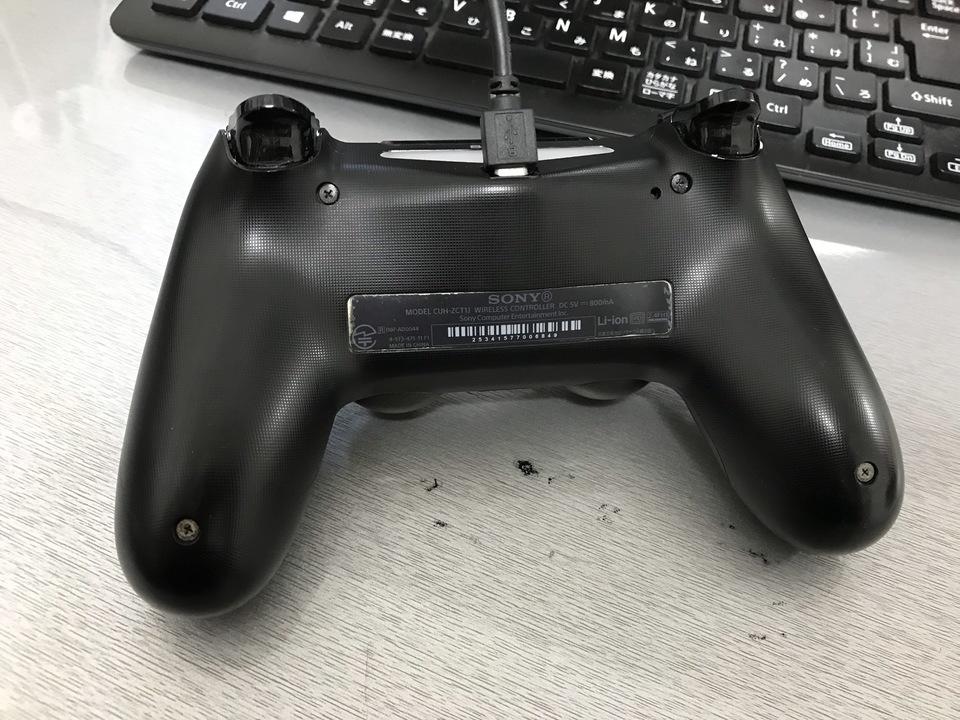 PS4  コントローラー 接続 PC